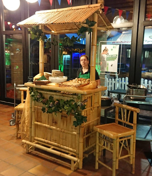 Catering-Stand Bumbus Theke Vermietung