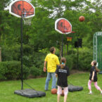 Basketballkoerbe Events Mieten