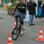 Bmx Rad Parcours Slalom mieten