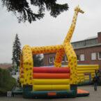 Huepfburg Giraffe Verleih