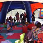 Kinderbetreuung im Pavillon mieten