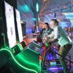 ski simulator zwei personen