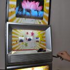 Spielautomat mit Branding und Logo Anbringung mieten