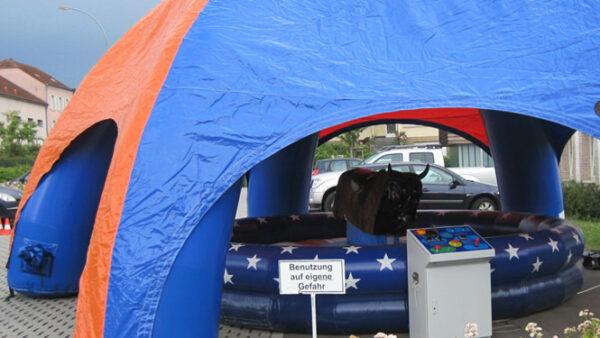 aufblasbares Zelt mieten
