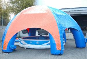 Air Pavillon für Rodeoanlagen mieten