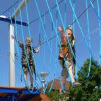Kinder klettergarten mobil mieten