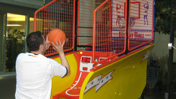 Pop Shot Basketball Anlage Verleih