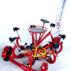 Team Bike - Mehrpersonenfahrrad mieten