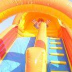 Clown Rutsche aufblasbar für Kinder Events