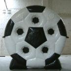 aufblasbare fussball torwand mieten