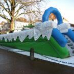 Aufblasbare Rutsche mieten Rodelbahn für Winter-Veranstaltungen