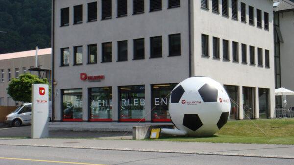 Fußball Blickfang mieten
