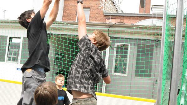 Basketballkörbe mieten