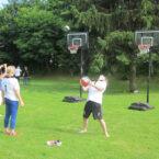 Basketballkörbe leihen