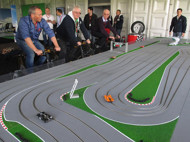 Pedal Powered Clot Car Race