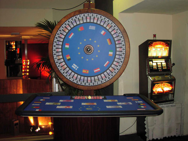 casino with wheel