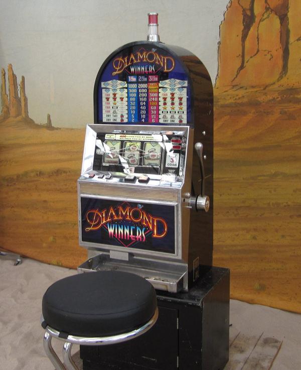 slot machine mieten