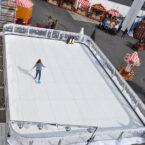 Schlittschuhbahn aus Kunststoff mieten