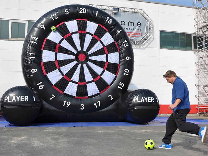 Fussball Dart Mieten Fussballspass Im Xxl Format