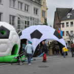 Hüpfburg mieten für Fussball Events