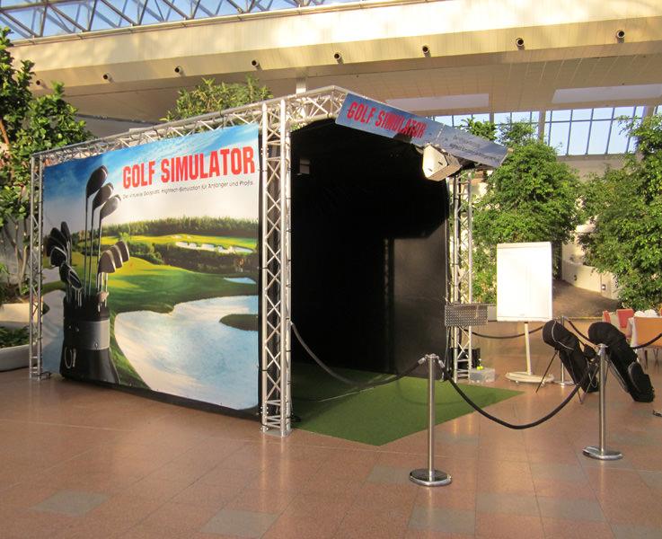 Golfsimulator-Verleih