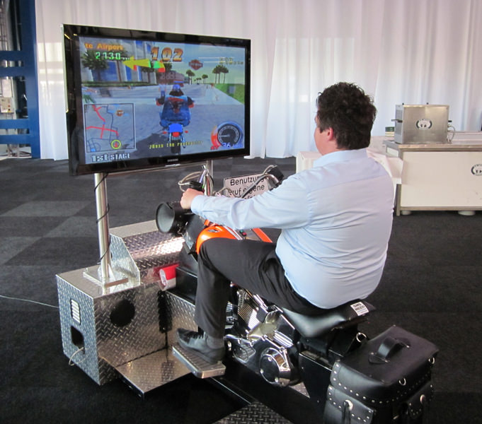 Harley Davidson Simulator Verleih