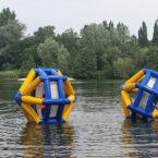Das Wasserlaufrad Hydrowheel mieten