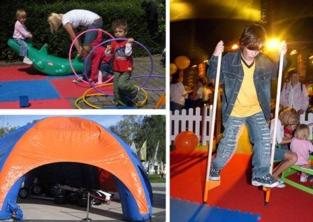 kinderspielzelt mieten f r feste und kinderevents