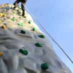 Kletterberg Kletterturm mobil fuer Veranstaltungen mieten