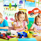 Malen für Kinder auf Events