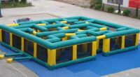aufblasbares Labyrinth mieten