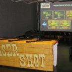 laser shot schiessbude mieten