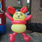 Luftballonknoten buchen Luftino-Maus