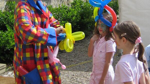Luftballonmodelage buchen