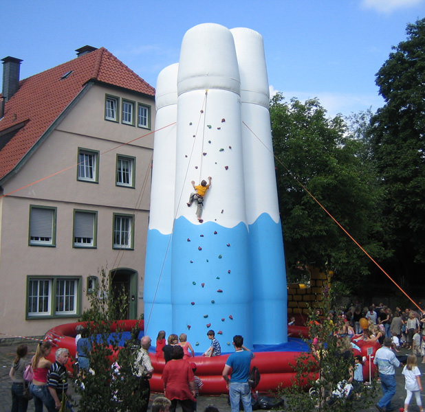 XXL Kletterberge mieten