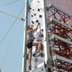 Kletterwand am Multi-Tower mieten