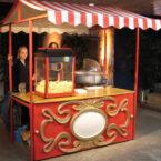 Nostalgie Marktstand Popcornmaschine Mieten