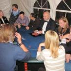 Pokertisch mit Croupier mieten