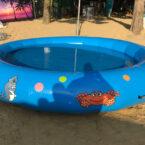 Pool 4 x 4m aufblasbar mieten