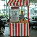 Popcorn Verkaufen Autohaus