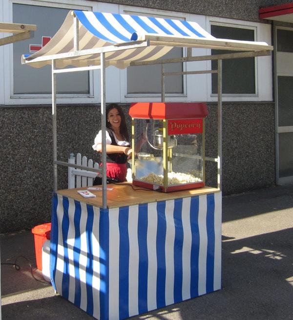 Popcornwagen mieten
