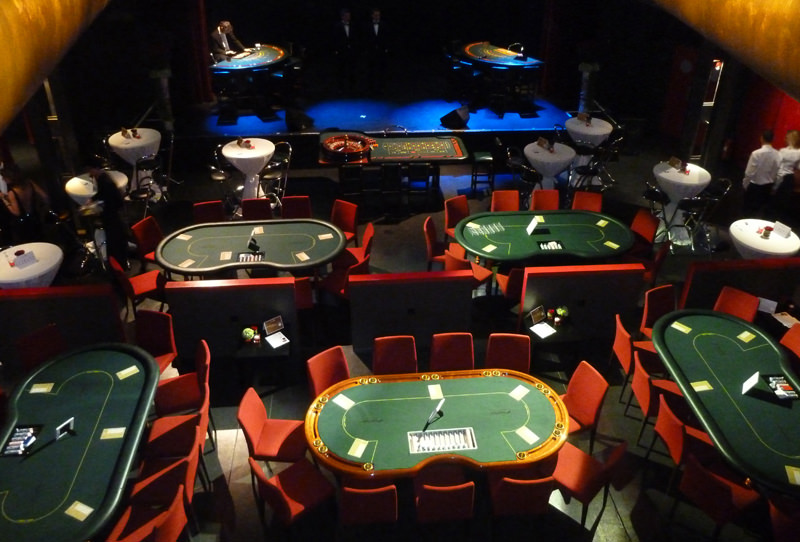 Casino Pokertisch