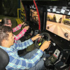 Rally Race Rennsimulator für Events mieten