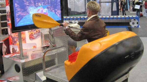 Rafting Simulator Verleih