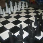 Riesen Schachbrett Schachfiguren