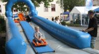 Rodelrutschbahn Event