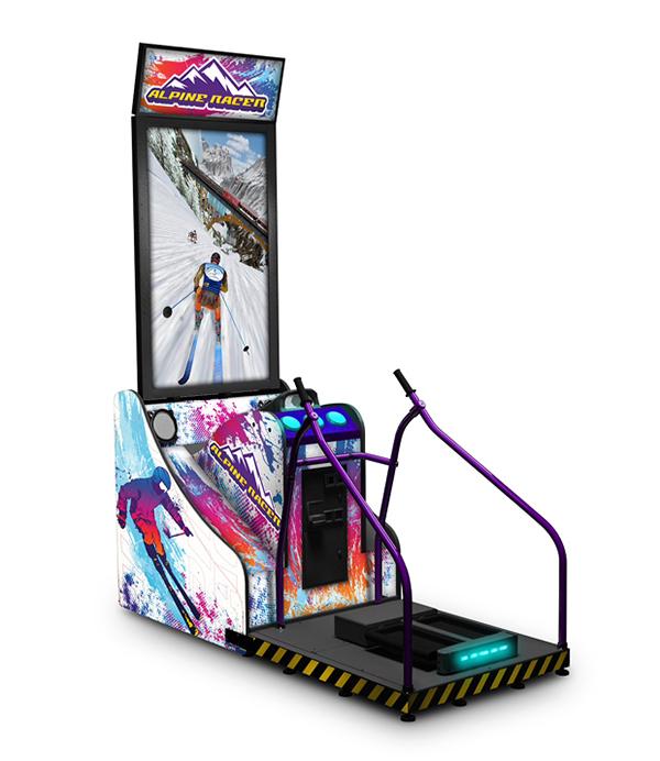Skiabfahrt Simulator mieten