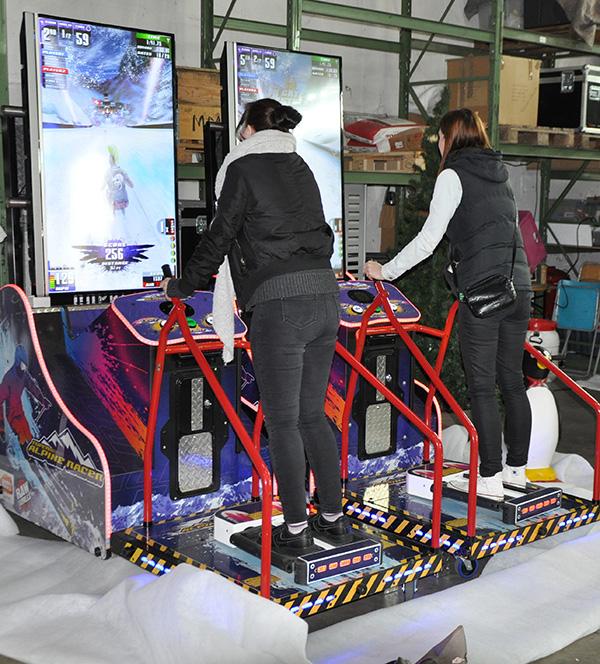 Skisimulator mieten