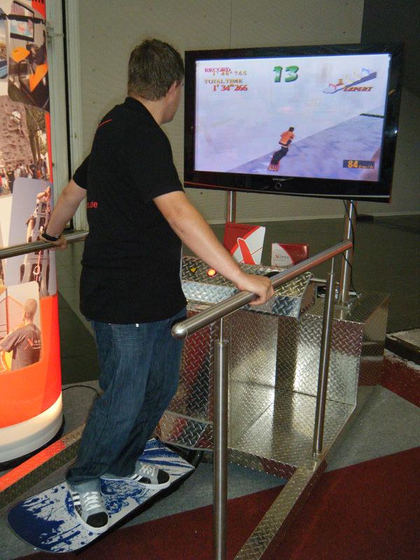 Snowboard Simulator Vermietung