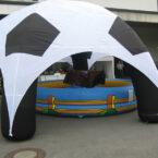 Soccer Air Pavillon Mieten